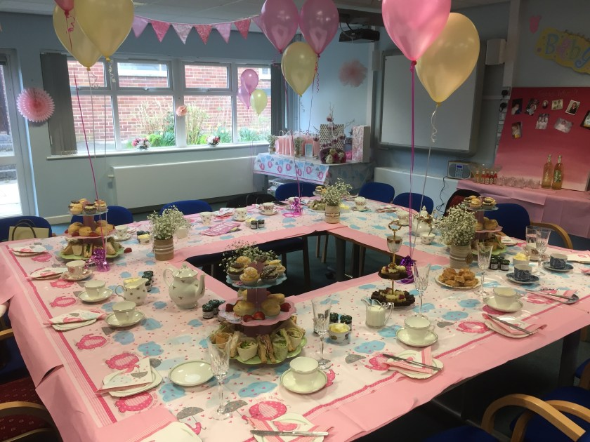 hall hire baby shower