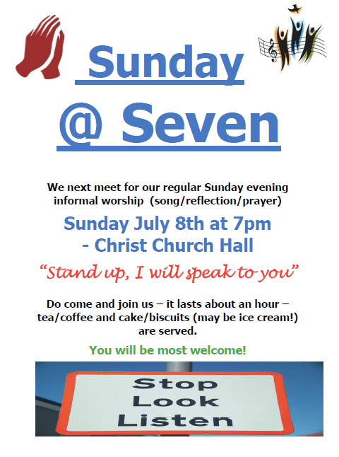Sunday @ Seven Stand up
