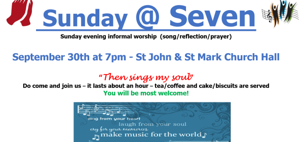 sunday@seven then sings my soul