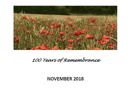 november magazine remembrance