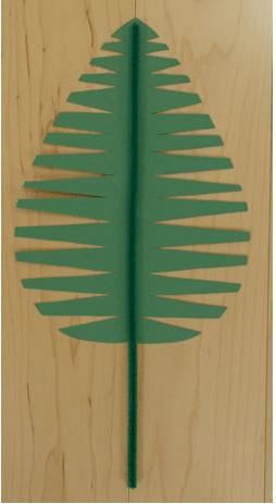 palm sunday leaf