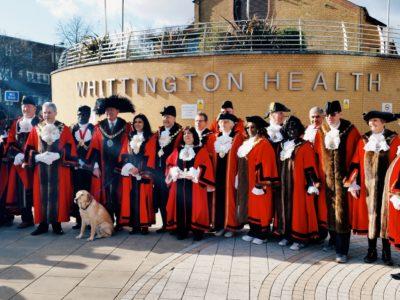 London mayors walk for charity