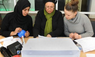 Success in workshops for women in manual skills