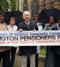 An afternoon with the Islington PensionersForum