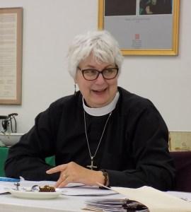 The Reverend Mary Piotrowski