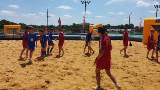 Premier match et 1ère victoire 6-2 contre la section de Vitré !!!