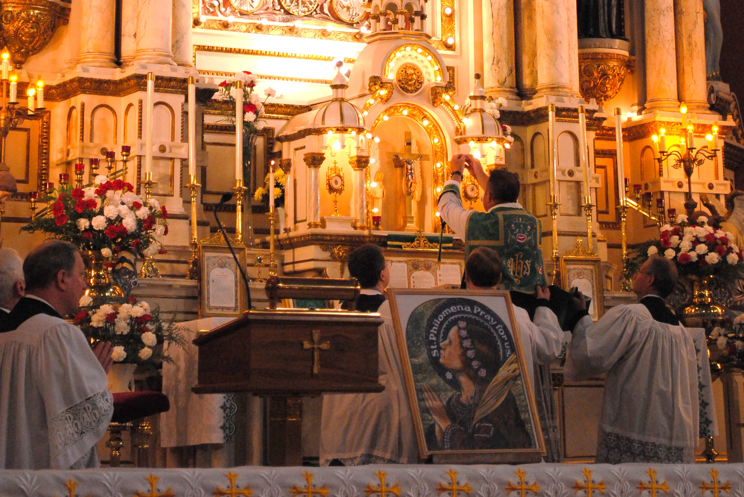 Tridentine Mass With Fr Roman And Devotions To St