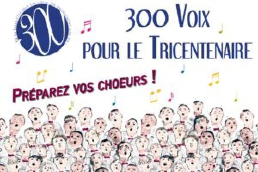 Concert des 300 voix mercredi 15 mai