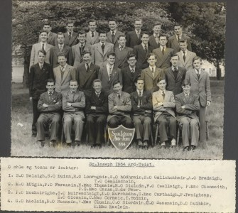 Leaving Cert Class of 1954