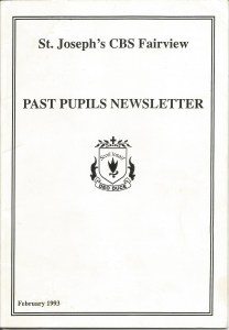 1993 Past Pupils Newsletter