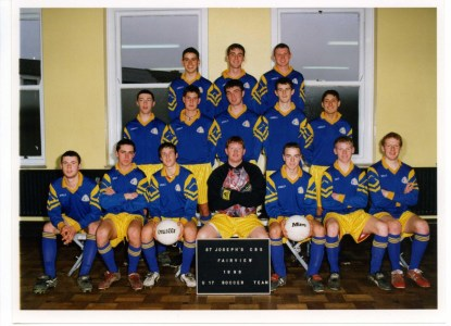 1998 Under 17 Soccer Team