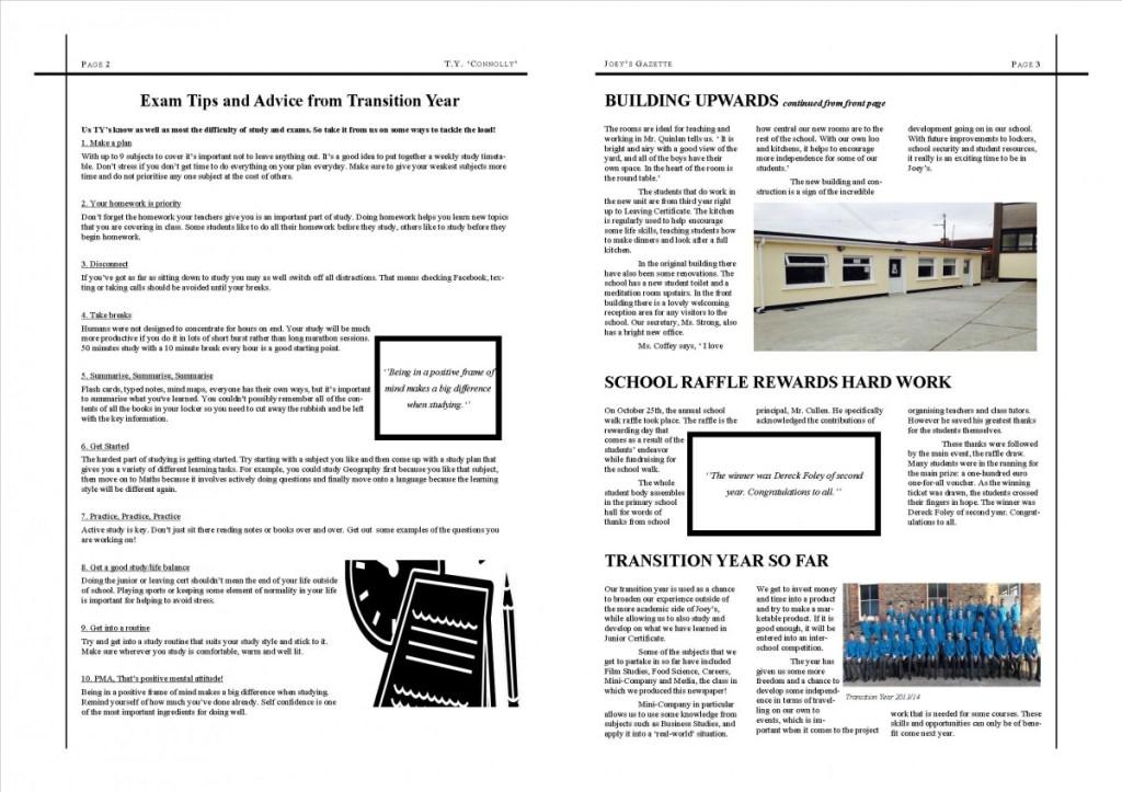 Finished Newsletter xmas 2013ii