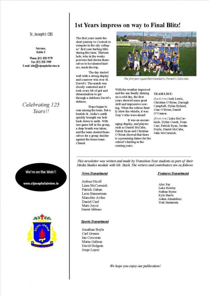 Finished Newsletter xmas 2013v