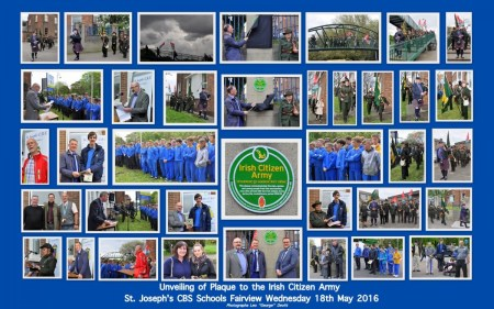 Unveiling of Plaque St