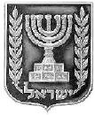 A Maccabee Menorah Arm-Patch