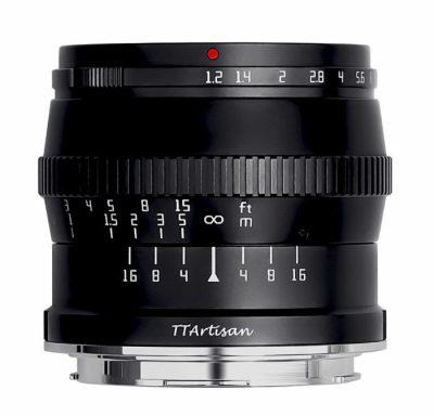 TTArtisan 50mm f/1.2 C Lマウント