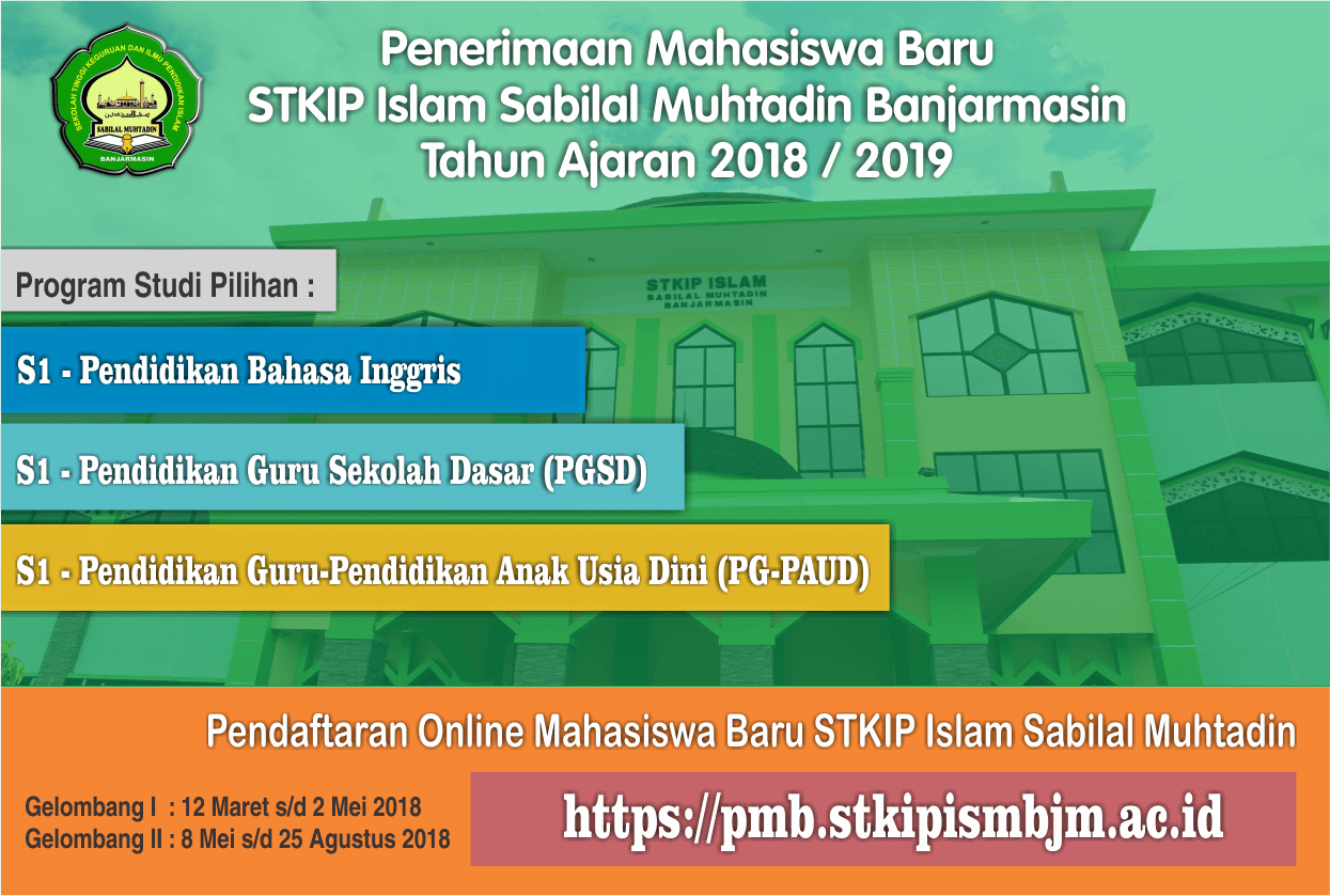 Penerimaan Mahasiswa Baru TA 2018 / 2019