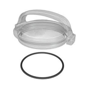 STRAINER COVER, CLEAR W/O-RING-HAY-101-1