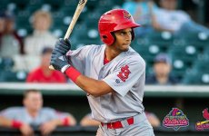 Cardinals deal prospect Mercado to Cleveland for two minor league outfielders