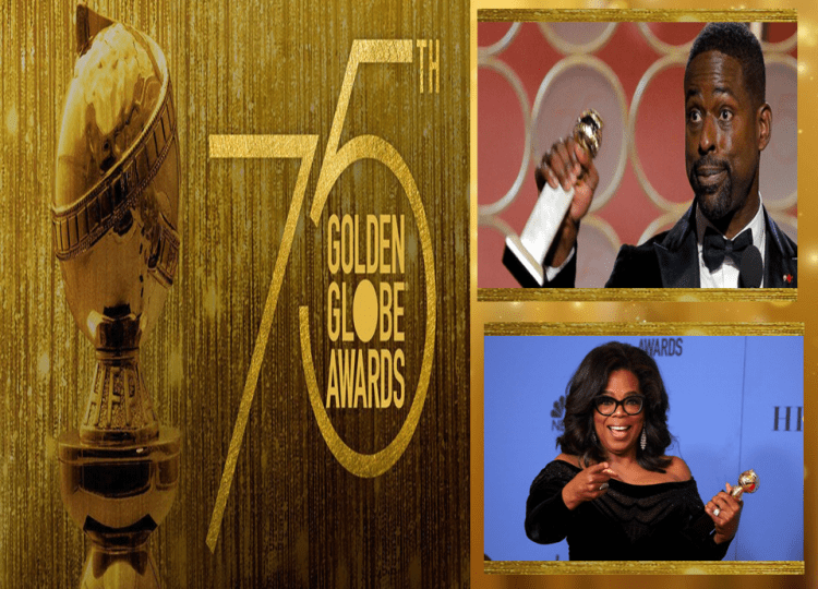 Brown and Winfrey Represent at the Golden Globes
