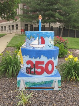 Cake #115 at the Clinton County Courthouse