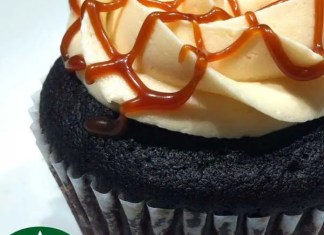 My absolute favorite drink from Starbucks turned into a cupcake! This Caramel Macchiato Cupcakes is a dream come true.