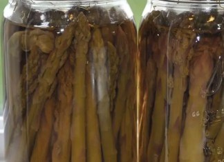 Recipe for Pickled Asparagus