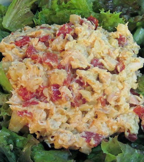 BBQ-Smoked Chicken Salad