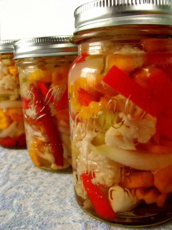 Mexican Pickled Vegetables