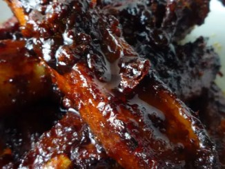 These Spicy Korean Pork Spare Ribs are succulent, sweet, and spicy. They require some advance marinade preparation, but then are easily cooked in the oven.