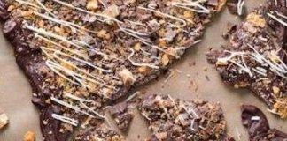 Recipe for Butterfinger Candy Bark