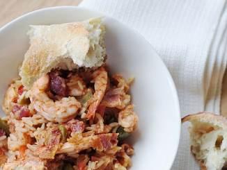 Recipe for Chicken and Shrimp Jambalaya