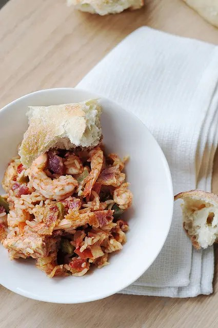 Recipe for Chicken and Shrimp Jambalaya