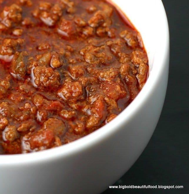 Go Hot or Go Home Beef Chili – Award Winner