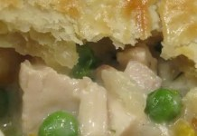 Nothing beats some great pot pie! It's always been one of my favorite comfort foods. This is a super easy recipe for Crock Pot Chicken Pot Pie that only takes a few extra minutes to finish before it's ready to serve.