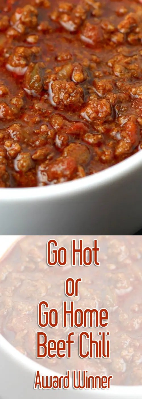 Meaty, rich, and with the right amount of heat. This chili recipe will be one of (if not THE) best you have ever tried!