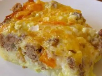 Recipe for Jimmy Dean Breakfast Boat - This is a very simple dish, but is quite tasty.