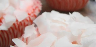Recipe for Strawberry Coconut Cupcakes