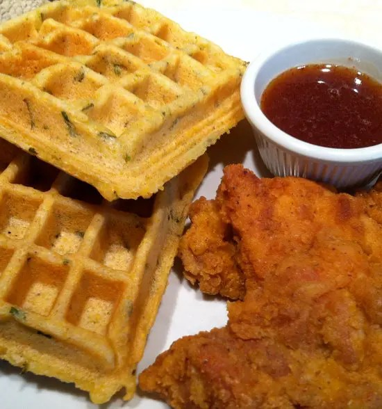 chicken_and_savory_cornbread_waffles_gluten_free_and_dairy_free