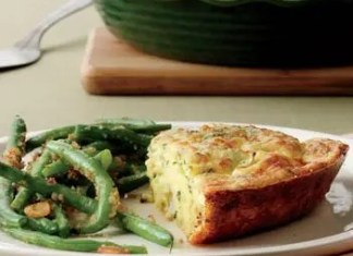Quiche can be loaded with extra calories from eggs, milk and cheese, not to mention the crust. But this Crustless Cauliflower Quiche does away with the crust while maintaining the flavor.