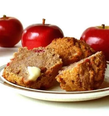 Must-Try Apple and Flax Seed Muffins