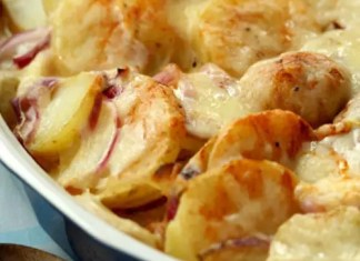 A rich and creamy side dish of potatoes and cheese. Everyone is sure to love this recipe for Scalloped Potatoes!