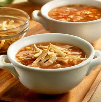 Hearty Turkey Tortilla Soup