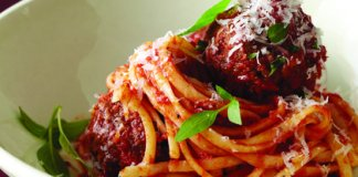 Recipe for Slow-Braised Ragu and Meatballs