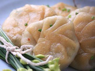 Recipe for Flowering Chive and Garlic Dumplings