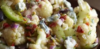 Recipe for Winter Cauliflower Salad