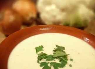 Recipe for Cauliflower Soup