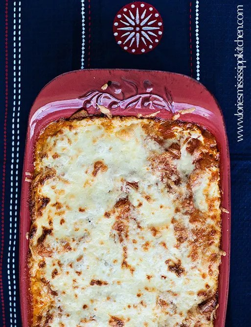 Recipe for Chicken Enchilada Casserole Rojo - or Verde