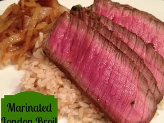 Recipe for Marinated London Broil