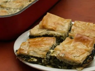 Recipe for Spanikopita - Greek Spinach Pie